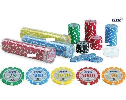 500 fiches tournament 14 gr - juego resana