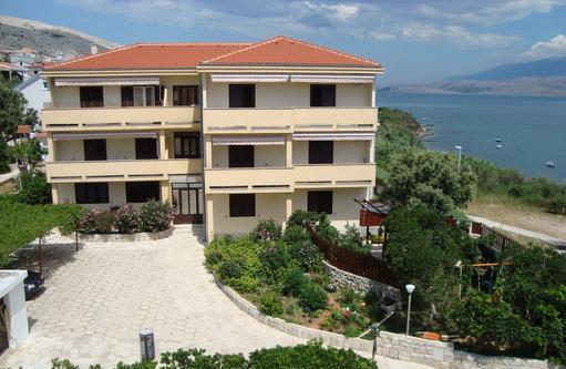 Appartamenti con balcone vista mare - croazia croazia