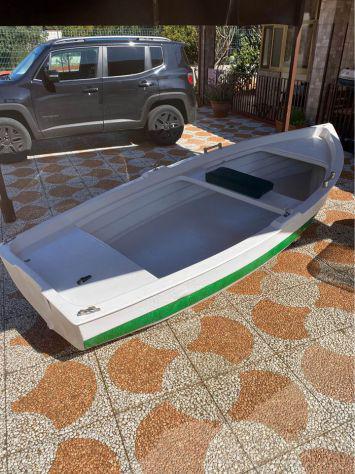 Lancia barca a motore selva 5 cv 3,70cm