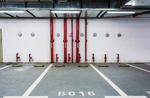 Lotto m) autorimessa al primo piano interrato.,centro aste