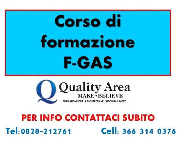 Corso patentino frigorista (f-gas) a salerno