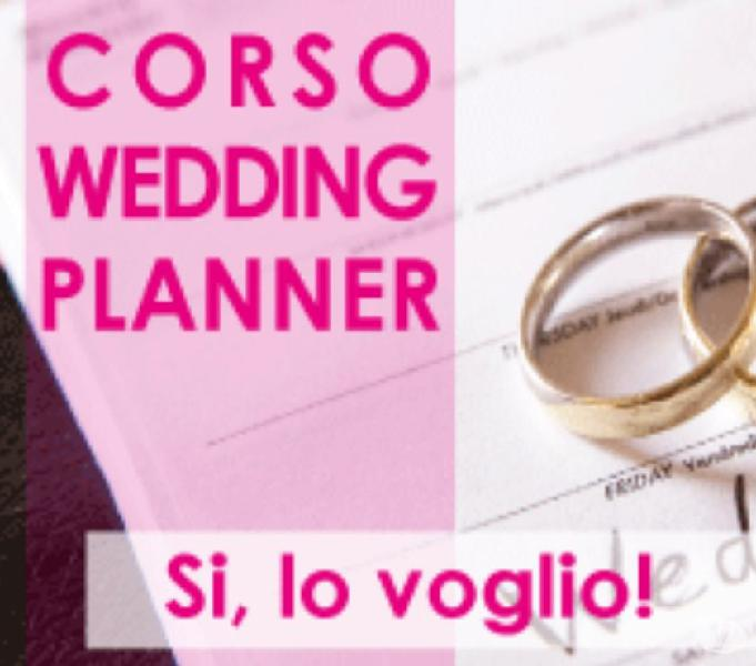 Corso in wedding planner & party planner
