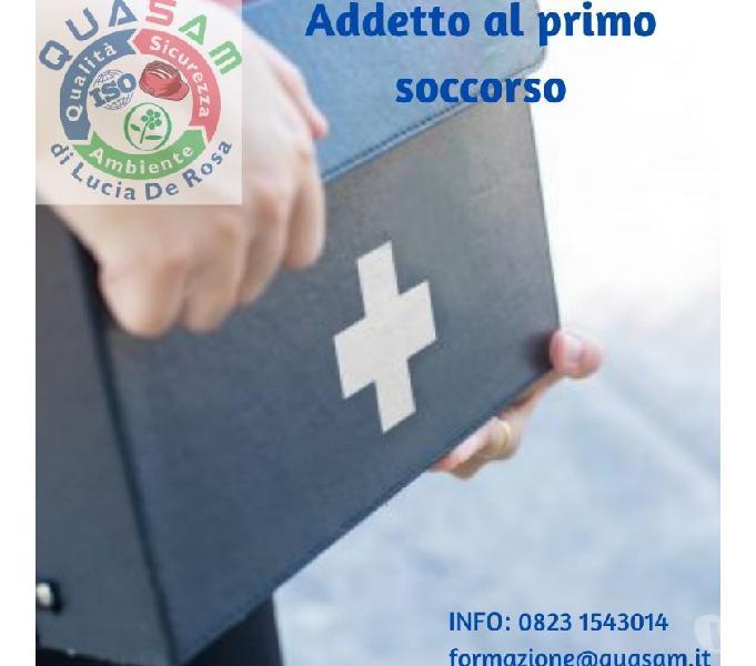 Corso di formazione per addetti al primo soccorso (12 e 16h)