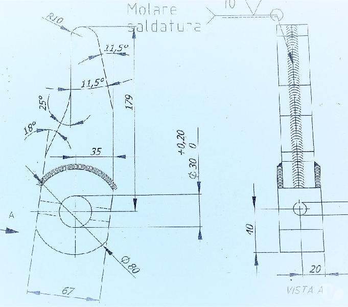 Corso disegno meccanico 30h