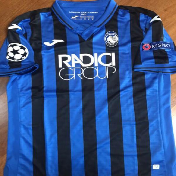 Atalanta maglia match worn champions league