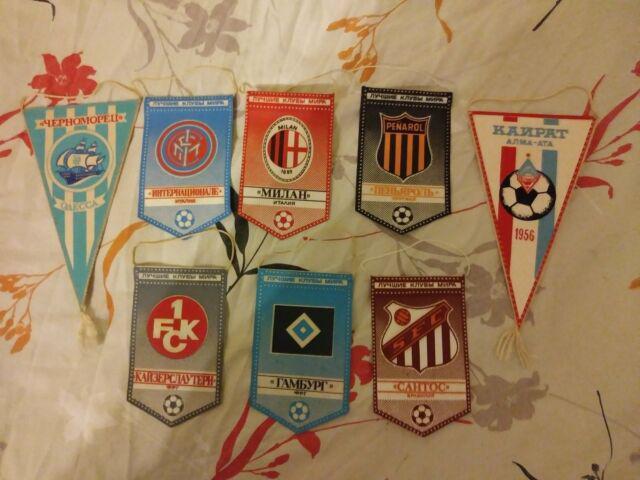 Gagliardetti di squadre di calcio in lingua russa