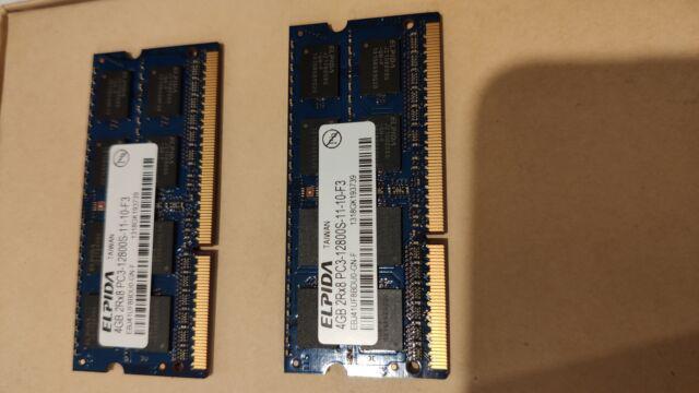 Memoria ram per mac 8gb (4gbx2) ddr3,1600mt,pc3-12800