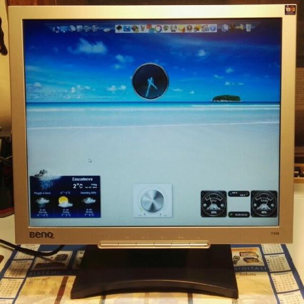 Monitor lcd 19 pollici benq t905