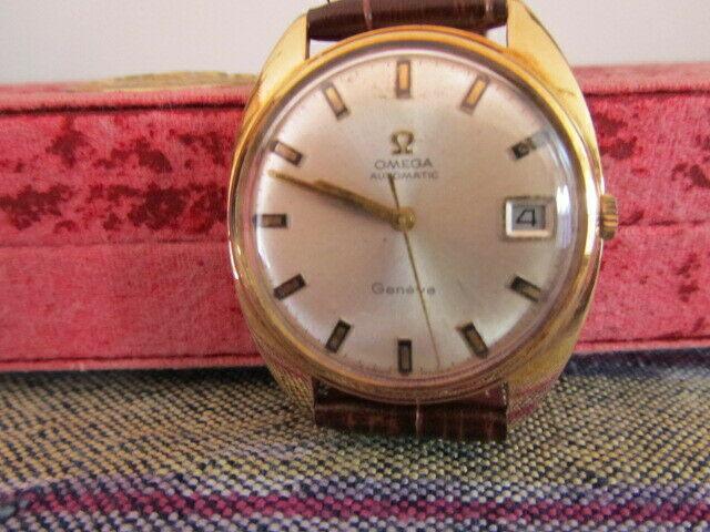 Orologio omega d'oro18kt. geneve vintage.piu' accessori.