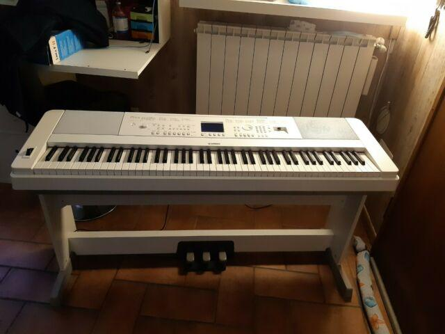 Pianoforte digitale arranger yamaha dgx660 white