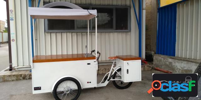 Altre moto o tipologie bici aperitivo e gelateria alimentazione elettrica e solare altro in vendita a terzigno (napoli)