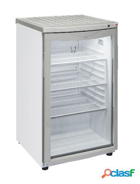 Espositore refrigerato roll bond per bibite - temp. +4° c/ + 10° c - capacità 85 lt