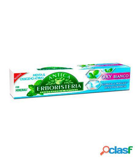 Dentifricio oxy bianco anti macchia menta e ossigeno attivo con minerali 75 ml