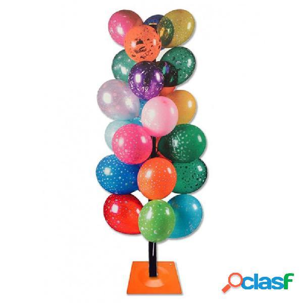 Espositore dispenser ad albero per palloncini 3244 balloon display stand 60 fori