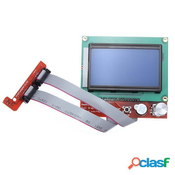 Stampante 3d ramps 1.4 lcd12864 scheda di controllo intelligente lcd