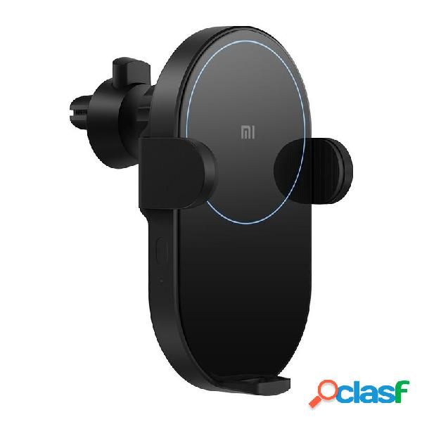 Xiaomi mi wcj02zm 20w qi caricatore senza fili per auto con sensore a infrarossi intelligente caricatore per auto a rica