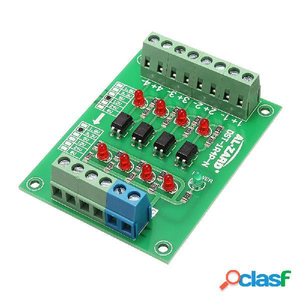 Scheda di isolamento optoaccoppiatore a 4 canali da 12v a 3,3 v a 4 canali modulo convertitore di tensione a livello di
