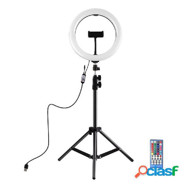Puluz pkt3051b 10.2 pollici dimmerabile led luce per anello video con supporto per treppiede pu419 per youtube tik tok l
