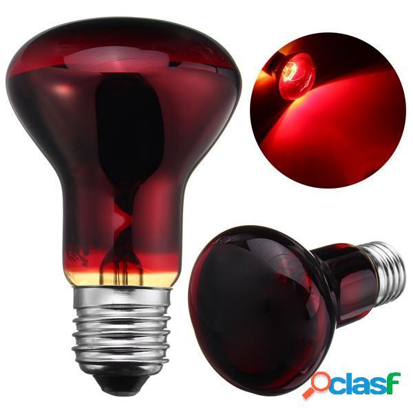 E27 r63 25w 50w 75w 100w rosso luce notturna luce rettile lampada ac220-240v