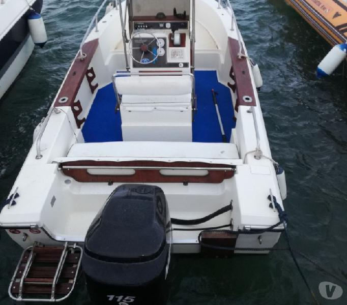 Barca 580 open con mercury 115cv