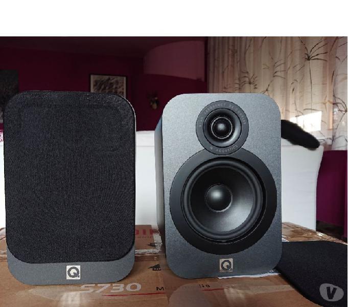 Casse audio q acoustics 3020 grafite