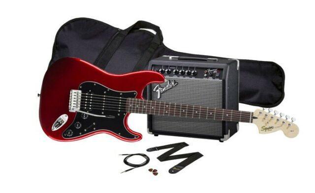 Chitarra elettrica fender squier