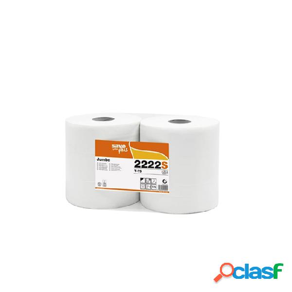 Carta igienica jumbo save in tissue 2 veli
