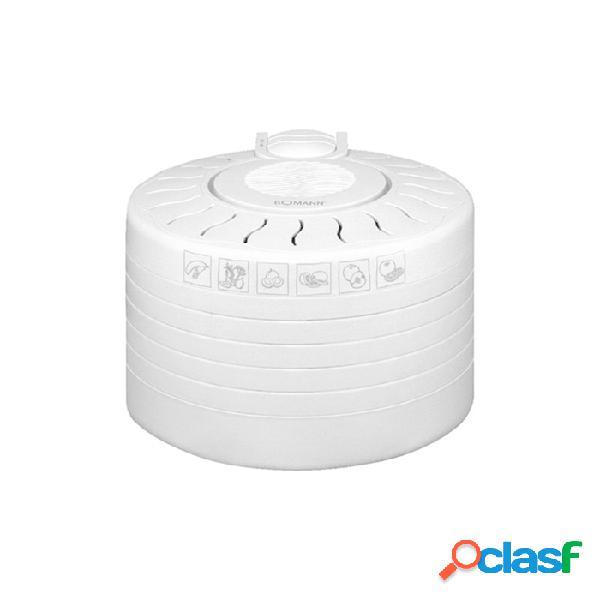 Essicatore bomann 5 scomparti in plastica bianca - plastica riutilizzabile - bianco