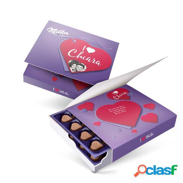 Confezione regalo say it with milka - amore - 220 grammi