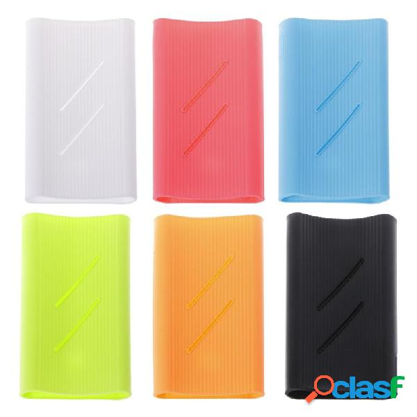Custodia protettiva posteriore in silicone per Xiaomi 2C Generation Power Bank 20000mAh