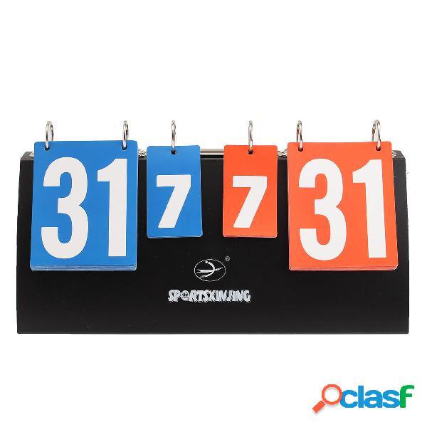 Scoreboard Flipper Portable Multi pallacanestro sportiva da pallavolo da pallacanestro