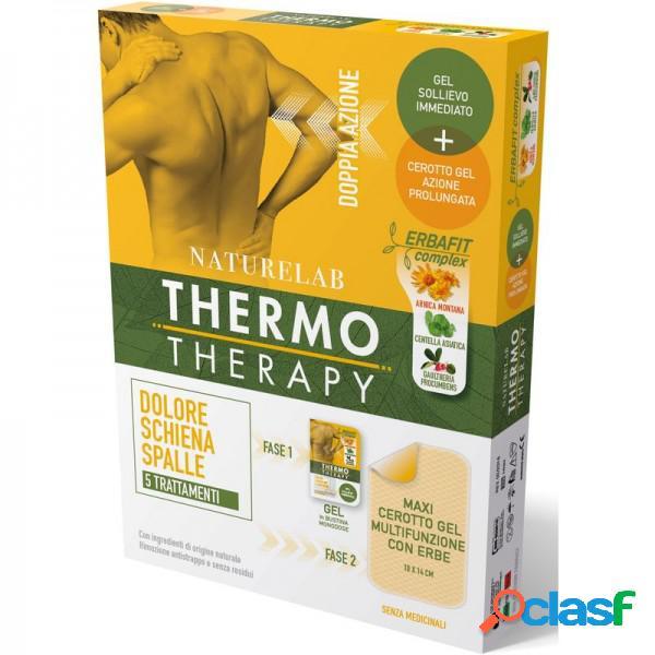 Thermo Therapy Maxi Cerotto Gel 10 X 14 Cm Multizunzione Con Erbe Dolore Schiena E Spalle 5 Trattamenti