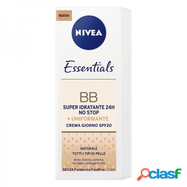 Nivea Viso Essentials Bb Crema Naturale Uniformante Super Idratante Giorno Per Tutti Itipi Di Pelle 50 Ml