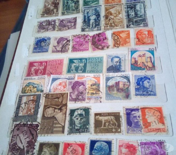 Lotto francobolli usati