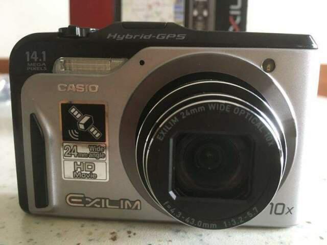 Casio exilim hi-zoom ex-h20g con gps 14.1 mp 10x