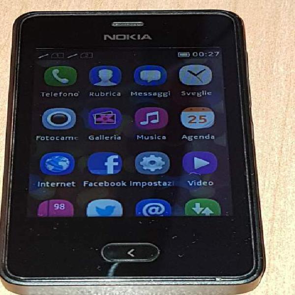 Smartphone nokia asha 501 nero dual sim