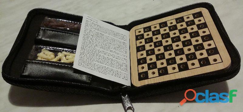 Scacchi portatili Royal Collection Group scacchiera piegabile custodia pezzi nuovo