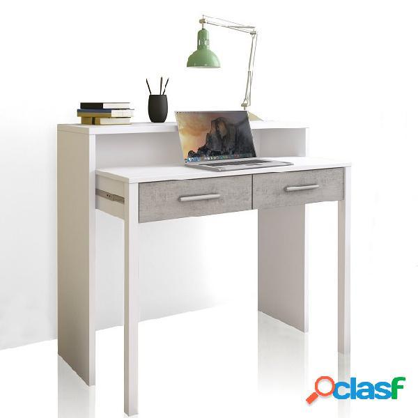 Consolle o scrivania estraibile con cassetti economica