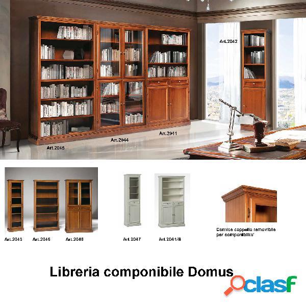 Libreria domus componibile