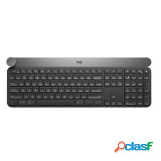Logitech craft tastiera wireless/bluetooth layout it