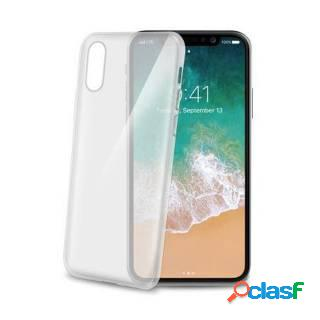 Celly gelskin cover per apple iphone x trasparente