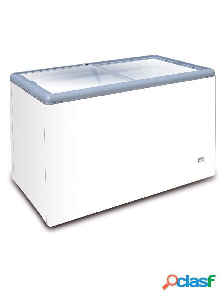 Congelatore a pozzetto per gelato 112 lt - porta vetro e temperatura - 25° c/ - 18° c