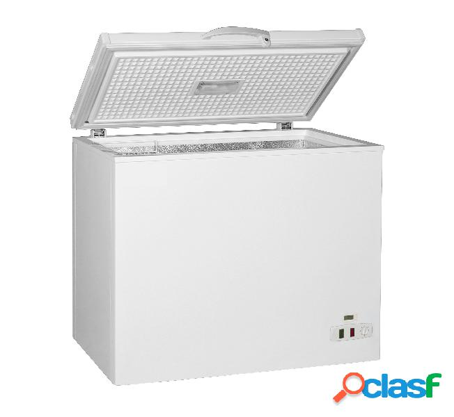Congelatore a pozzetto full optional - 197 lt - temperatura -18° c/-25°c - classe a+