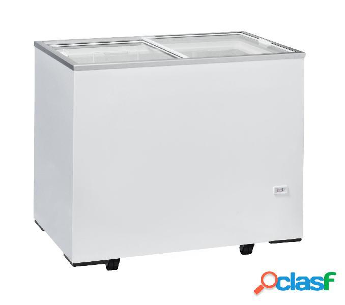 Congelatore a pozzetto refrigerazione statica, 300 litri e temperatura - 12°c/-22°c