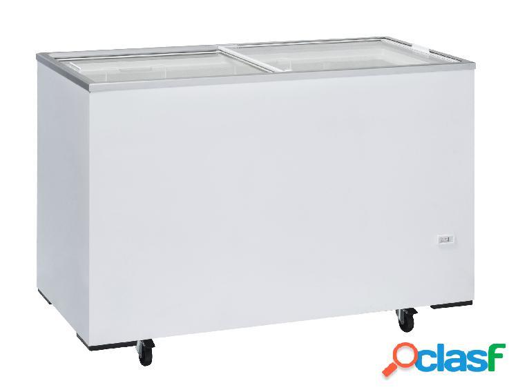 Congelatore a pozzetto refrigerazione statica, 400 litri e temperatura - 12°c/-22°c