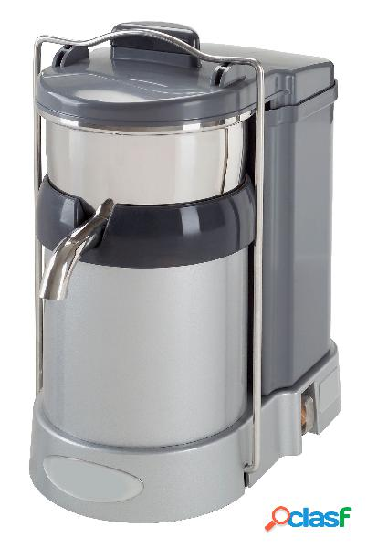 Centrifuga professionale da banco per frutta e verdura in acciaio inox - potenza 750 w