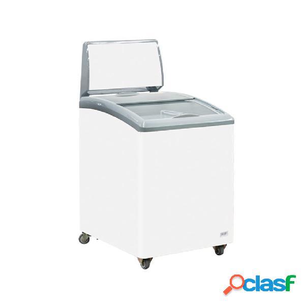 Congelatore a pozzetto per gelato 150 litri e temperatura - 23° c/ - 14° c