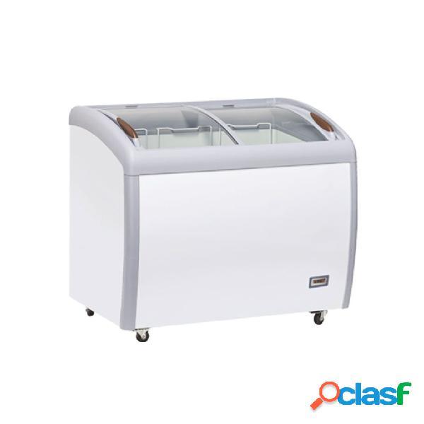 Congelatore a pozzetto refrigerazione statica, 300 litri e temperatura - 18°c/-22°c