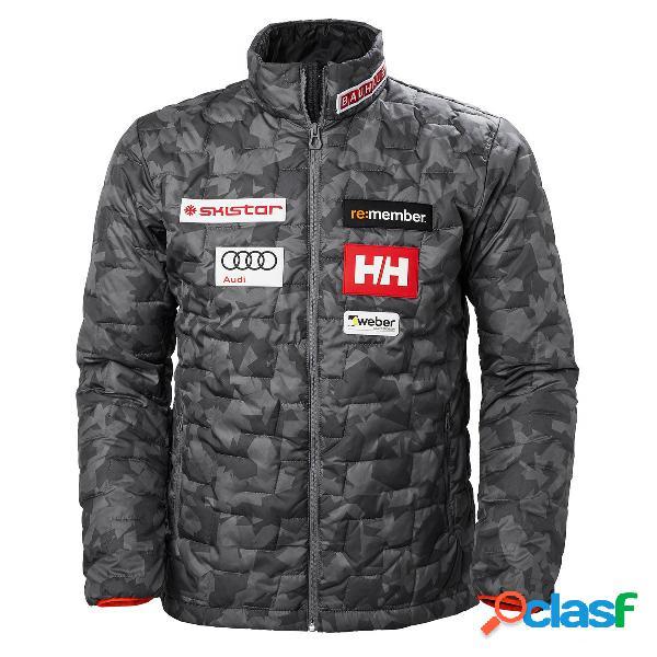 Giacca sci helly hansen lifaloft insulator (colore: swe charcoal, taglia: s)