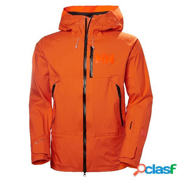 Giacca sci helly hansen sogn (colore: bright orange, taglia: s)